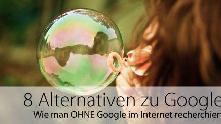 8 Alternativen zu Google