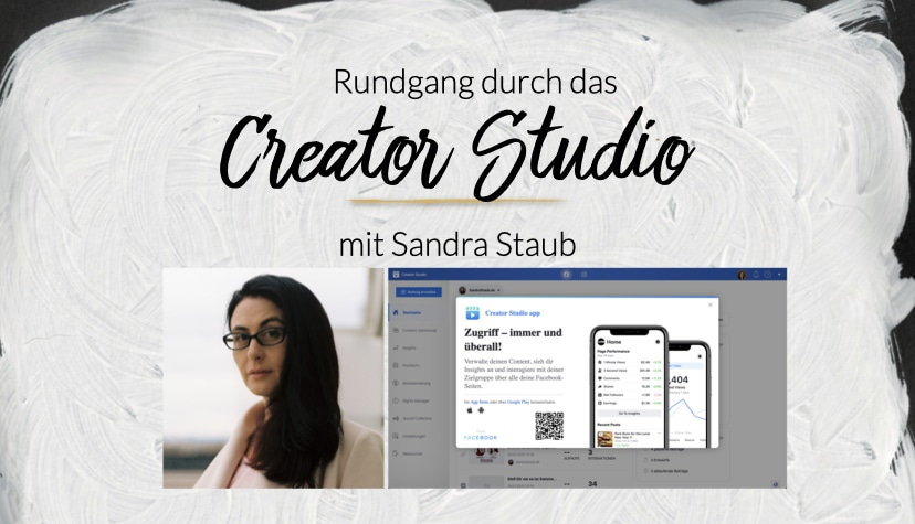 Das Creator Studio von Facebook kann sehr viel und ist vielen noch unbekannt