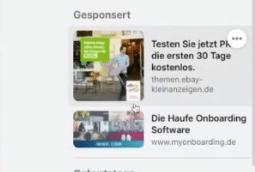 Ad-Formate im neuen Facebook Design