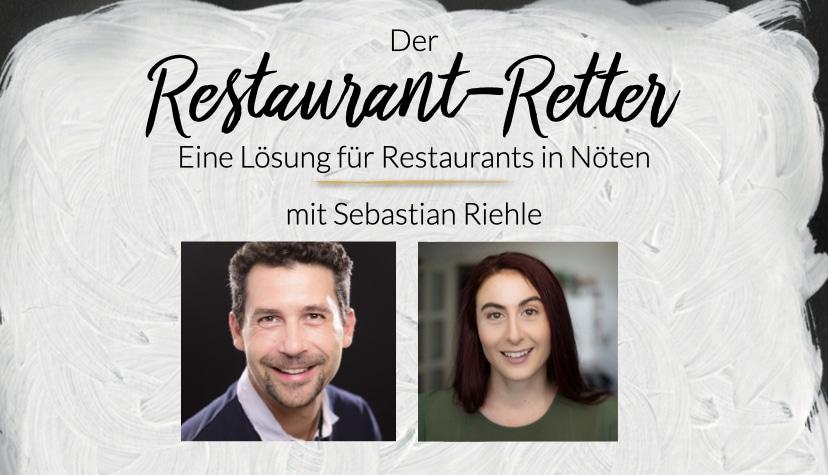 Der Restaurant Retter Sebastian Riehle. Wie Chatbots Restaurants in Nöten helfen