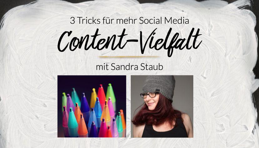 Content-Vielfalt macht deinen Social Media Inhalt besser